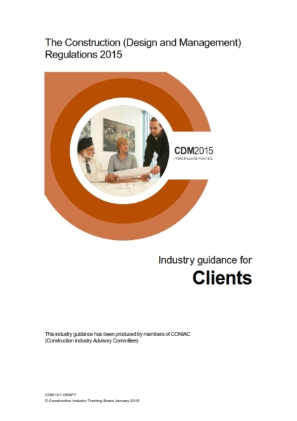 CDM2015 industry guidance clients