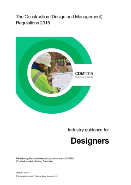 CDM2015 industry guidance designers