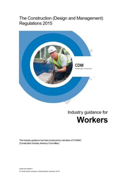 CDM2015 industry guidance workers